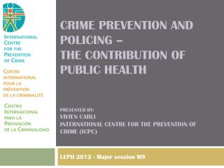 LEPH 2012 -  Major session M9