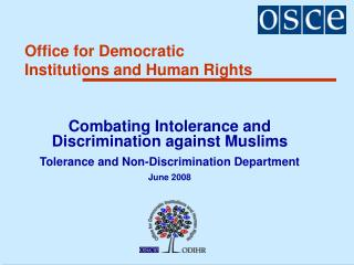 Office for Democratic Institutions and Human Rights