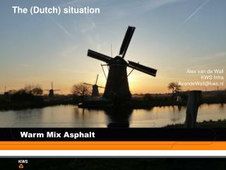 The (Dutch) situation