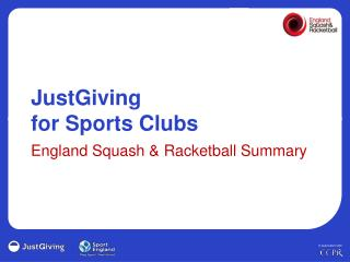 JustGiving  for Sports Clubs