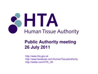 Public Authority meeting 26 July 2011