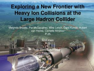 Exploring a New Frontier with Heavy Ion Collisions at the Large Hadron Collider