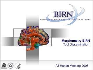 Morphometry BIRN  Tool Dissemination