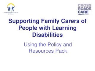 Supporting Family Carers of People with Learning Disabilities