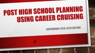 POST HIGH SCHOOL PLANNING