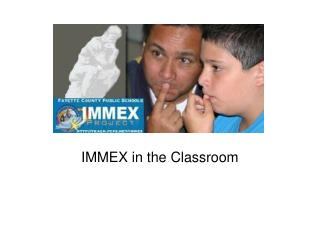 IMMEX in the Classroom