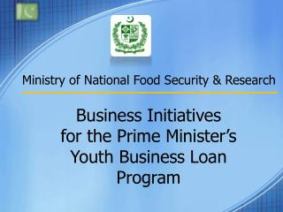 Ministry of National Food Security & Research