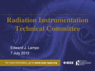 Radiation Instrumentation Technical Committee