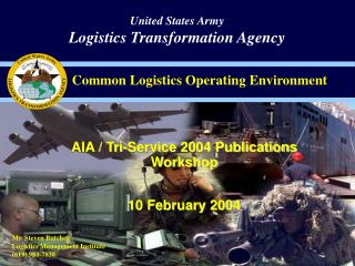 AIA / Tri-Service 2004 Publications Workshop 10 February 2004