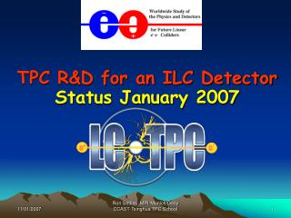 TPC R&D for an ILC Detector Status January 2007