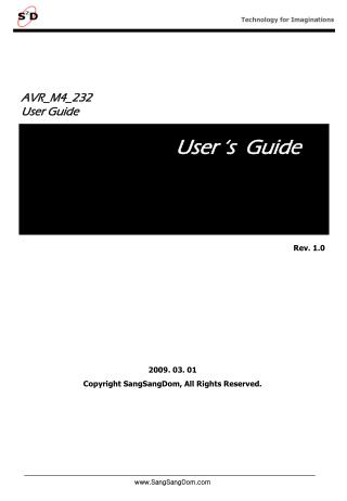 AVR_M4_232 User Guide