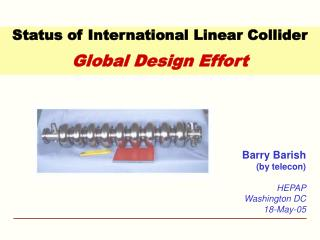 Status of International Linear Collider  Global Design Effort