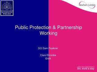 Public Protection & Partnership Working