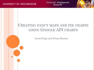 Creating fancy maps and pie charts using Google API charts