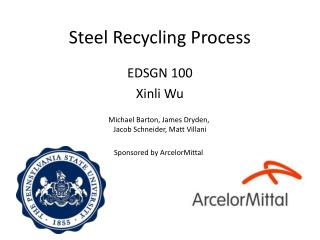 Steel Recycling Process