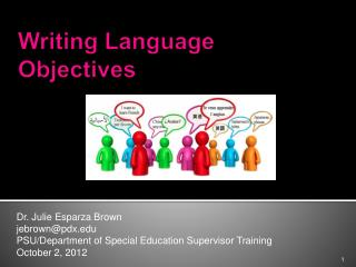 Writing Language Objectives