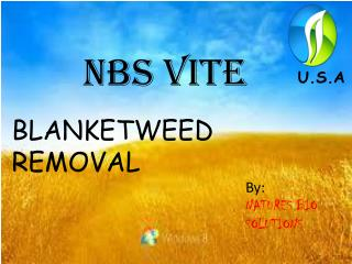 NBS VITE- blanketweed Solution/Free Delivery