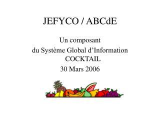 JEFYCO / ABCdE
