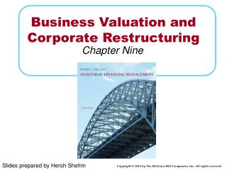 Business Valuation and Corporate Restructuring