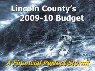 Lincoln County's 2009-10 Budget