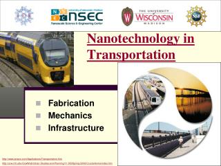 Nanotechnology in  Transportation