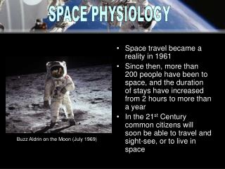 Space travel became a reality in 1961