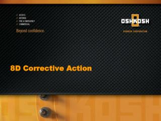 8D Corrective Action
