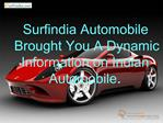 Surfindia Automobile