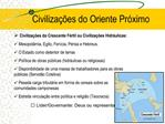 Civiliza  es do Oriente Pr ximo