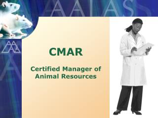 CMAR  Certified Manager of Animal Resources