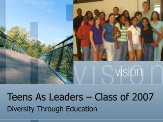 Teens As Leaders – Class of 2007