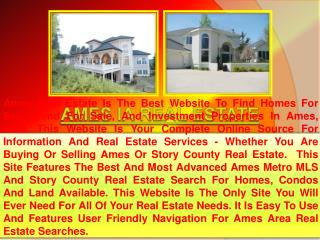 Ames Real Estate