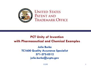 PCT Unity of Invention with Pharmaceutical and Chemical Examples
