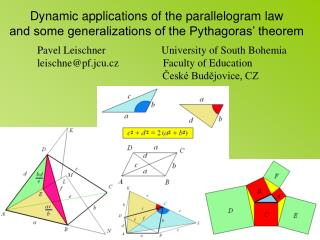 Dynamic applications of the parallelogram law
