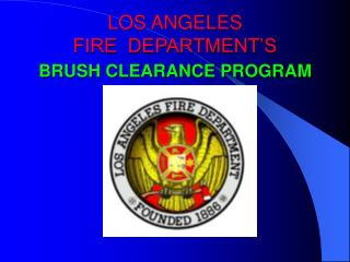 LOS ANGELES  FIRE  DEPARTMENT'S