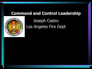 Command and Control Leadership