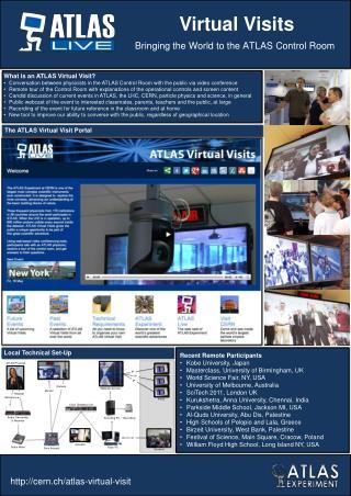 What is an ATLAS Virtual Visit?