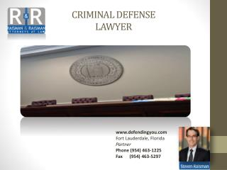 5 Things You Need to Know Before Hiring a Criminal Defe