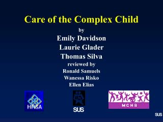 Care of the Complex Child