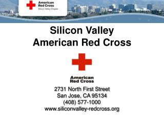 Silicon Valley  American Red Cross