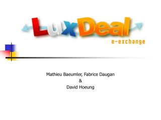 Projet LuxDeal