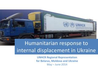 Humanitarian response to internal displacement in Ukraine