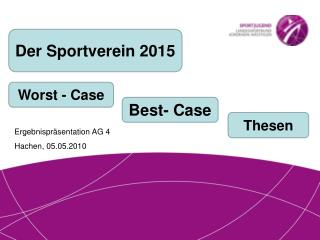 Der Sportverein 2015