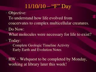 "11/10/10 – ""F"" Day"