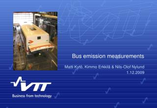 Bus emission measurements