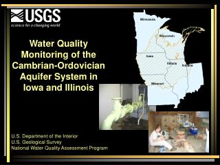 Water Quality Monitoring of the Cambrian-Ordovician Aquifer System in Iowa and Illinois