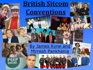 British Sitcom Conventions