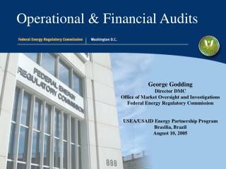 Operational & Financial Audits