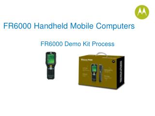 FR6000 Handheld Mobile Computers