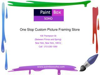 Best Custom Framers NYC – Paintboxsoho.com